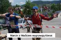Marcin Krasuski i Maciek Dubaj na mecie Kieratu! fot. Krzysztof Wiktorowski